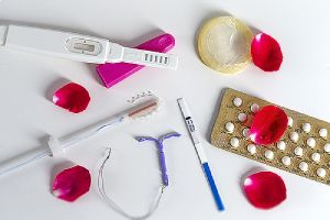 Various means of contraception