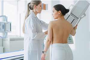 Friendly Doctor Explains Importance of Breast care Prevention Screening
