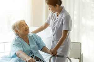 Nurse Practitioner Services taking care at office
