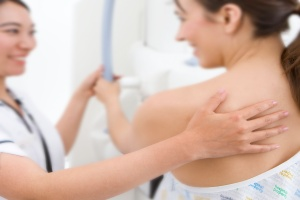 women talking to doctor about  What To Expect From A Mammogram