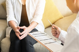 gynecological health in medical clinic or hospital healthcare service center for a GYN Wellness Screening